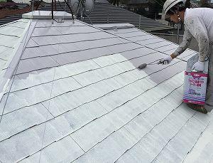 常総市栄町Y様邸 屋根塗装