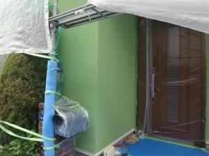 外壁(柱のライン)施工前