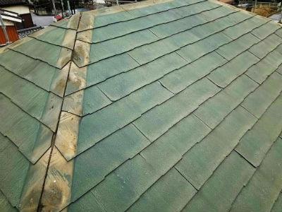 野田市M様 屋根の下地処理・防水シート敷き