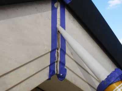 つくば市S様 破風板補修・塗装