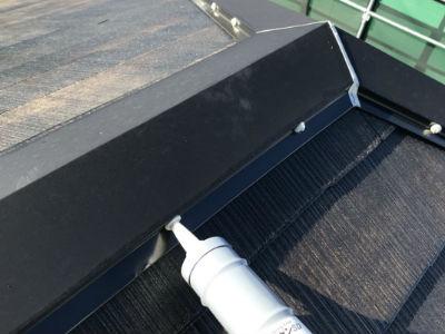 船橋市N様 棟板金の補修・塗装
