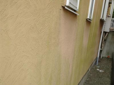 流山市K様 外壁の高圧洗浄