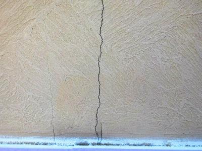 流山市K様 外壁のクラック補修