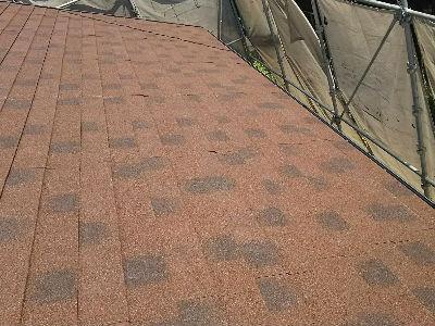 屋根材葺き2