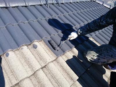 印西市K様 屋根補修・下地処理