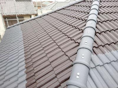 印西市K様 屋根塗装