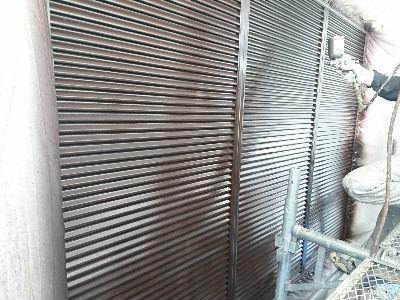 印西市K様 雨戸塗装