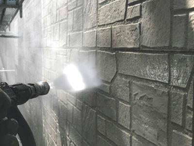 八潮市S様 外壁高圧洗浄