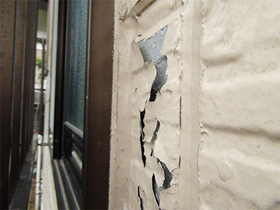 流山市M様 外壁補修