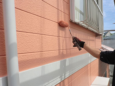 白井市E様 外壁補修・塗装
