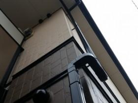 柏市軽量鉄骨造アパート 付帯塗装