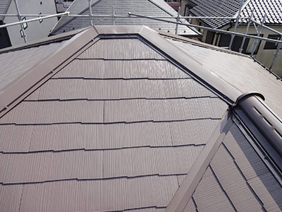 流山市W様 屋根塗装