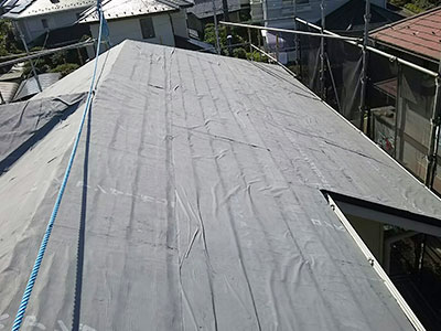白井市S様 屋根カバー工法