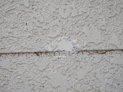 富里市K様アパート 外壁穴補修
