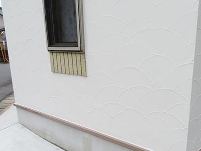 鎌ケ谷市M様邸 アクセント部外壁