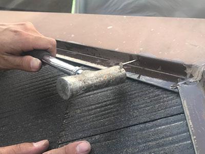 柏市Y様 屋根補修・塗装