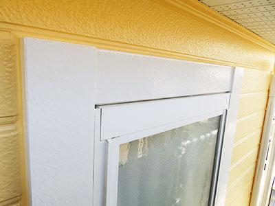松戸市Y様邸 窓枠化粧板補修・塗装