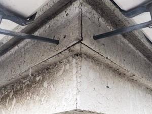 取手市M様 破風板・軒天の補修・塗装