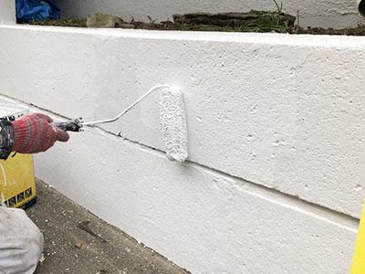 江戸川区H様 ブロック塀補修・塗装