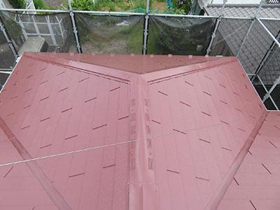 柏市K様邸 屋根塗装