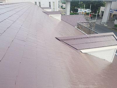 牛久市S様邸 屋根塗装