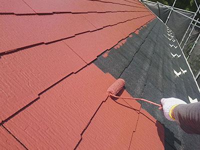 成田市K様 屋根塗装