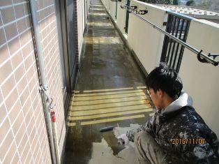 千葉県柏市 福祉施設 介護老人ホーム 防水工事工程