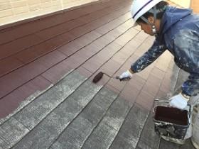取手市S様邸 屋根塗装