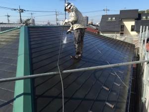 屋根洗浄_スレート瓦