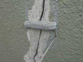 佐倉市U様邸 クラック補修と外壁塗装