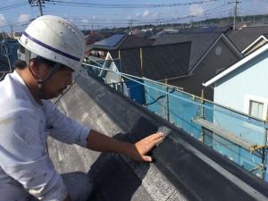 千葉県印西市滝野 O様邸 屋根塗装3