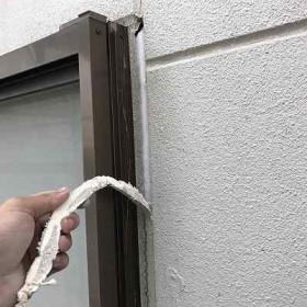 常総市Y様邸 外壁補修 コーキング工事(打替え)