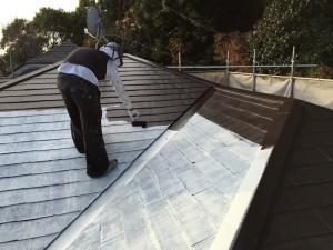 市川市F様邸 屋根塗装