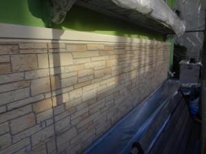 外壁(多彩色部分)施工前