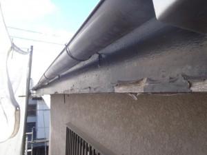 千葉県松戸市 M様邸 破風板 施工前