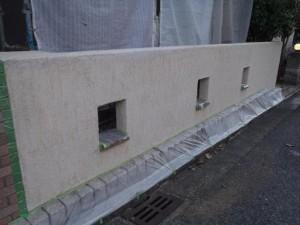千葉市 O様邸 塀 施工前