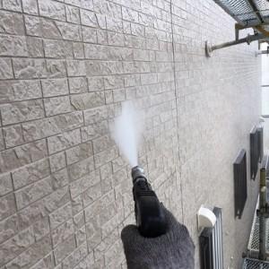 千葉県八千代市大和田新田 U様邸 外壁 高圧洗浄