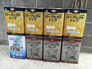 千葉県八千代市大和田新田 U様邸 使用塗料
