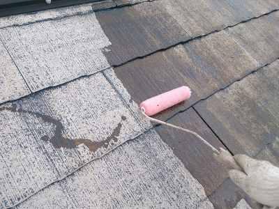 柏市N様邸 屋根塗装