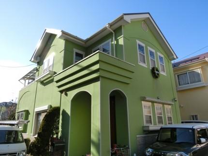 屋根・外壁塗装 千葉県浦安市M様4年点検