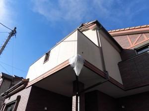 千葉県柏市酒井根 M様邸 付帯塗装