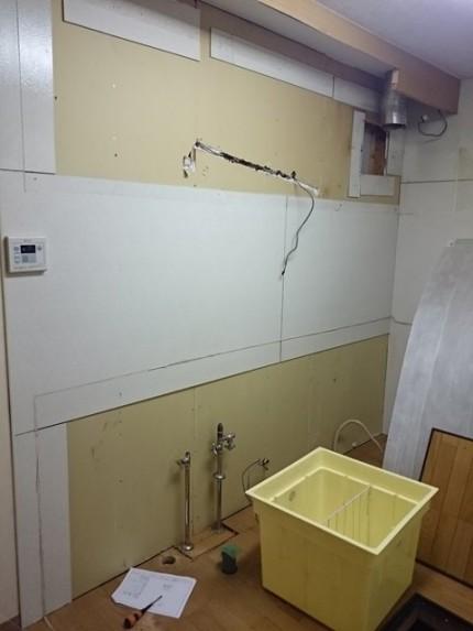 埼玉県吉川市キッチン解体後