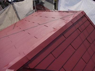 柏市W様邸 屋根塗装