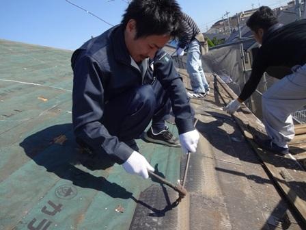 千葉県船橋市 屋根葺き替えガルバリウムK様