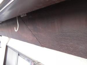 市川市F様邸 破風板塗装