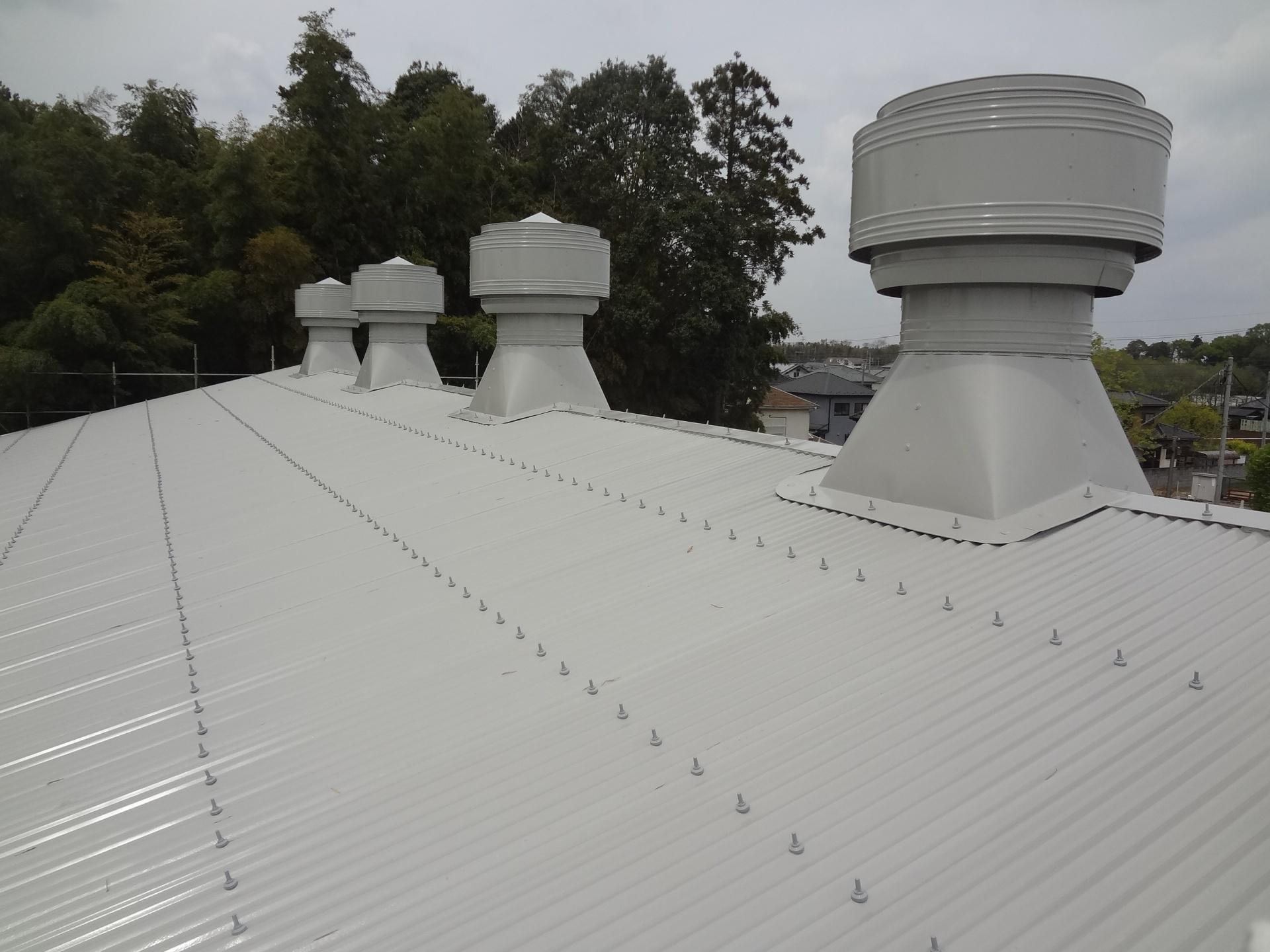 工場屋根 倉庫塗装