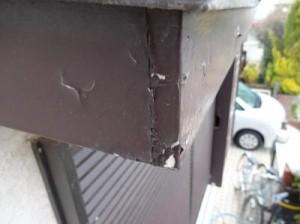 千葉県柏市花野井 S様邸 破風板塗装 施工前