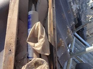 茨城県守谷市 屋根葺き替え セキスイU瓦 解体