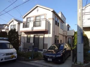 千葉県柏市加賀 S様邸 外壁塗装