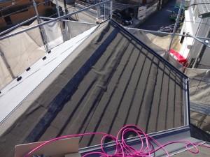 流山市S様邸 屋根塗装